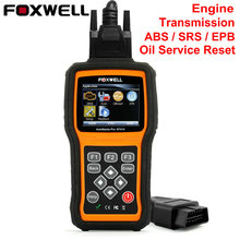 Foxwell NT414 Four System Engine ABS Airbag EPB Oil Reset Transmission OBD2 Automotive Scanner PK MD802 OBD Diagnosis Scan Tool(China)