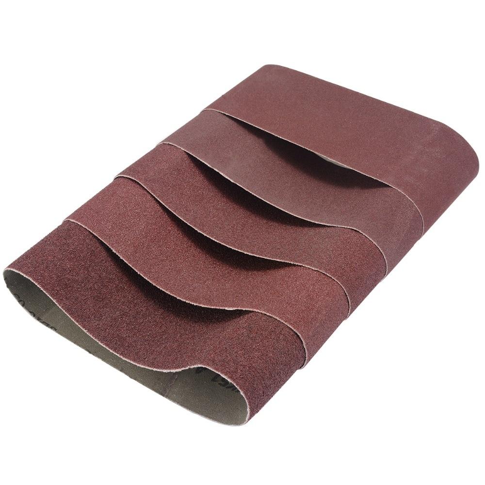 Tools Msb75457 New Fashion Tasp 5pcs 3 X 18 Belt Sander Sandpaper 75x457mm Sanding Belt Aluminium Oxide Abrasive Woodworking Tools