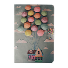 overmal brand for ipad mini 1/2/3 Retina Balloon Home Stand Flip Leather Case Cover Drop Shipping Hot Sell 2017