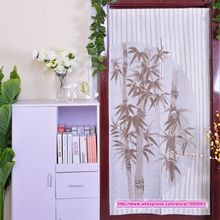 Classical Chinese Style High Grade Bamboo Knitting Curtain Romantic Room Taiwan Feng Shui Decoration