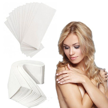 80 Pcs Hair Removal Waxing Depilatory Nonwoven Epilator Wax Strip Paper Set
