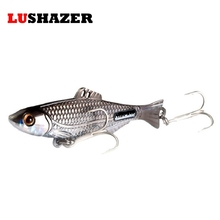 Free shipping fishing lure spoon carp fishing 10g 15g 21g silver gold metal vib spinner lure hard bait fishing lures china(China)
