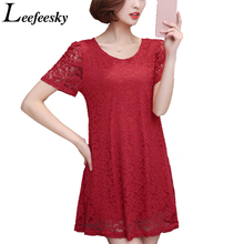 Buy 6XL Plus Size Women Clothing Summer 2017 New Fashion Short Sleeve Crochet Lace Blouse Ladies Long Shirts Tops Blusa De Renda for $11.88 in AliExpress store