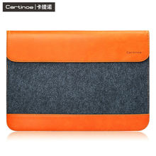 Cartinoe Laptop Sleeve Bag Waterproof Notebook PU Case Cover For Macbook Air 11 13 inch Pro 13 Retina Mini 1 2 3 SURFACE Pro 12