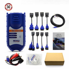 NEXIQ Auto Heavy Duty Truck Scanner Tool NEXIQ USB Link better than DPA5 on sale Nexiq 125032 Usb Link DHL Free(China)
