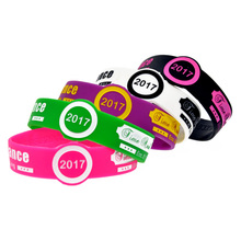 Promo Gift Custom Watch Shape Silicone Wristband for Advertising Gift(China)