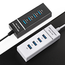Super Speed USB 3.0 Hub 4 Port 5Gbps Micro USB Hub High Quality Hub USB Splitter Adapter For PC Computer Peripherals Accessories(China)