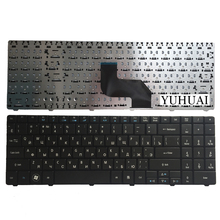 Russian Keyboard for Medion E6217 DNS peagtron H36 0KN0-W01RU121 MP-08G63SU-5287 RU laptop keyboard black(China)