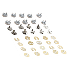 10 set magnetic bag clasps 14 mm - Ideal for sewing, crafts, clothing, bag, Scrapbooking, and more.(China)