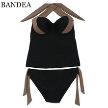 BANDEA Plus Size Bikinis Brasileiros 2017 Push Up Swimwear Women Bikini Vintage Women Swimwear Bikini Set Swimsuit(China)