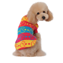 Colorful Stripe Pet Sweater Winter Clothing for Dogs(China)