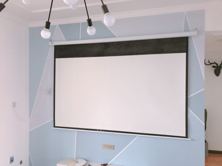 150inch Electric projection screen pic 17