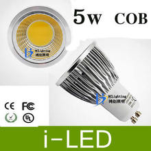 10x LED Spotlight Bulbs COB 5W GU10 MR16 Dimmable led spot light indoor led lighting Warm Cool White AC85-265V 12V CE UL cUL