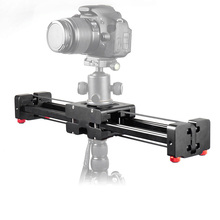 Buy 50cm Track Rail Stabilizer Retractable Camera Video Slider Dolly 104cm Sliding Distance Load 8kg Canon Nikon Sony DSLR for $118.00 in AliExpress store