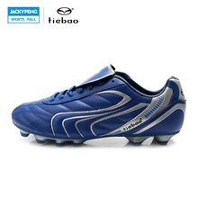 TIEBAO Professional Blue Outdoor Soccer Shoes Men Women  Men Soccer Shoes Football Boots Trainers Sports Sneakers Shoes