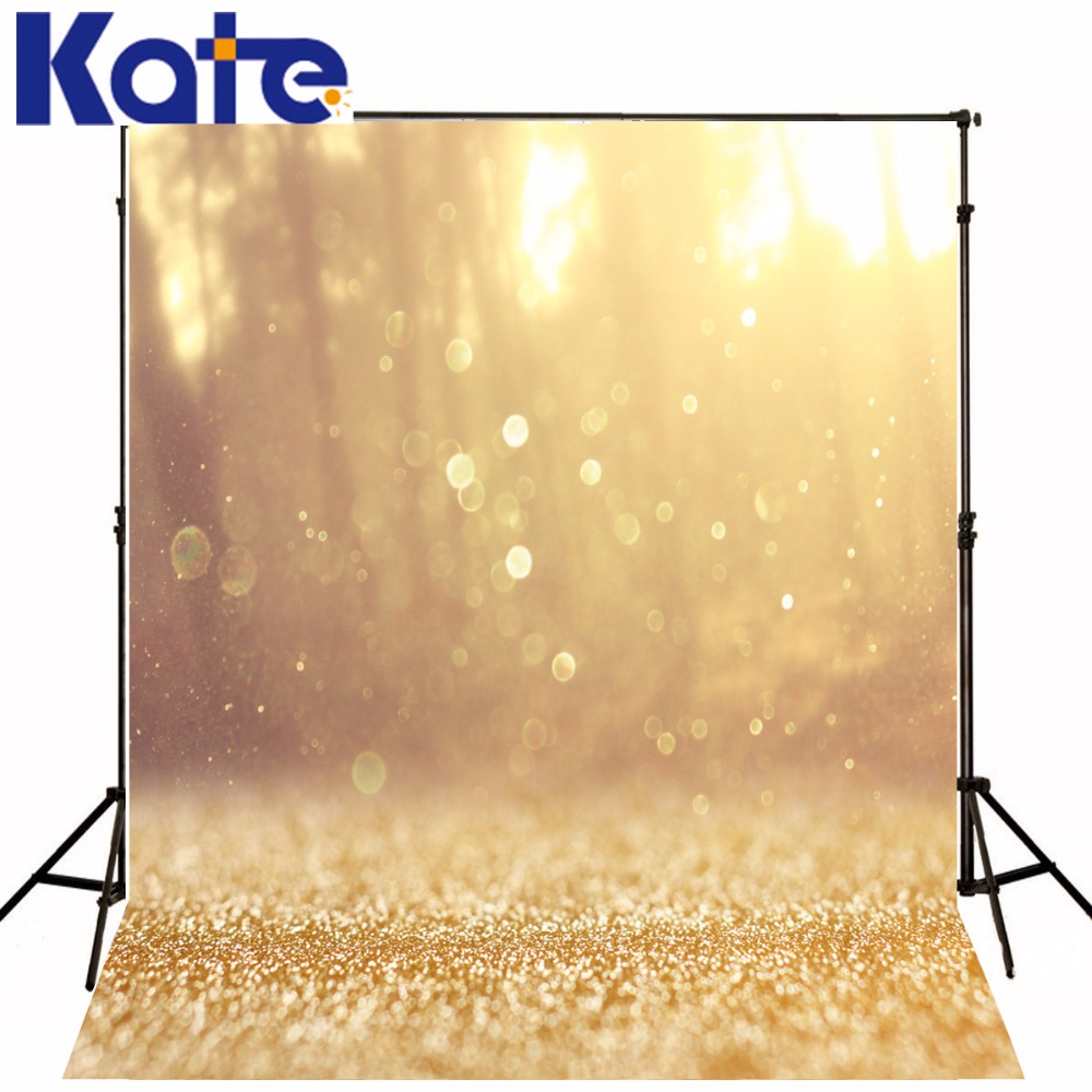 Kate Digital Printing Photography Backdrops Fantasy Gold Bling Bling For Children Birthday Photographic Background<br>