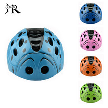 Cute Kids Bike Helmet Ultralight High density PC Cartoon Skating Children's Safety Cycling Bicycle Helmet 46-59CM Ciclismo New