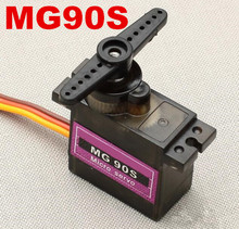 High Quality Airplane Helicopter MG90S Metal Geared Micro 9g Servo for Plane / Boat 450 Car DIY Robot