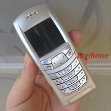 Original Unlocked Refurbished Nokia 6108 Mobile Phone GSM Cellphone One Year Warranty(China)