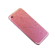 Full Body Protection Bling Shining Glitter Colorful Sticker Case For iPhone 7 Plus Ultrathin Skin Cover Coque Funda(China)