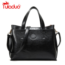 2016 Women Bag Handbag Tote Over Shoulder Crossbody Autumn Winter Leather Big Brand Black Letter Casual Designer Female Bolsas