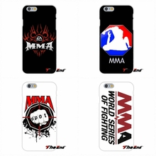 For Samsung Galaxy A3 A5 A7 J1 J2 J3 J5 J7 2016 2017 Soft Silicone Cell Phone Case Cover The MMA logo mixed martial art Poster