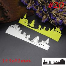 1 Pc Christmas Snow Carbon Steel Cutting Dies Stencil DIY Scrapbooking Paper Album Decoration Embossing Cards Craft Nice Gift(China)