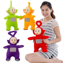1pcs Authentic Teletubbies Plush Toy Cartoon Teletubbies Stuffed Doll Super Quality Children Christmas Birthday Gift(China)