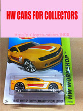 Hot Wheels 1:64 Chevy Camaro Special Edition Metal Alloy Model For Colecter  Wholesale Metal Cars For Car Lovers