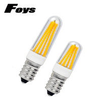 Dimmable E14 LED Lamp 220V 110V Mini LED E12 Filament Bulb E14 COB LED Light High Lumen refrigerator led Bulb Chandelier Lights