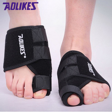 AOLIKES 2 Pcs /Lot Toe Orthopedic Feet Care Hallux Valgus Correction Bands Foot Protective Fixed Sports Safety