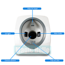3D facial skin analyzer magic mirror skin and hair analyzer for salon use
