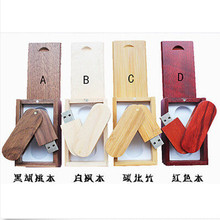 Hot usb flash drive Professional 4 colours Customized Natural wooden 4GB 8GB 16GB 32GB usb pen drives  over 20 pcs free logo