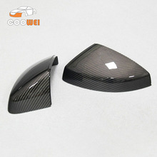 Full Replacement mirror For Audi A3 S3 carbon fiber mirror cover car door mirror 2014 2015 2016-UP without lane assit