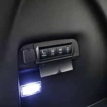 Protective cap cover for buttons in trunk for Ford Explorer 2011 2012 2013 2014 2015 2016 2017(China)