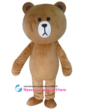 High quality obedient bear mascot clothing Teddy bear clothing free shipping