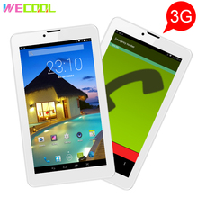 New WeCool M7 7 inch 3G Phone Calling Tablet PC with IPS 1280x800 Resolution Android Phablet 8GB Quad Core Dual SIM GPS FM Radio(Hong Kong)
