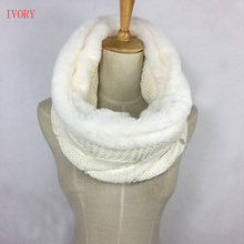 Hot selling professional factory custom design Winter acryilc knitted cable snood scarf