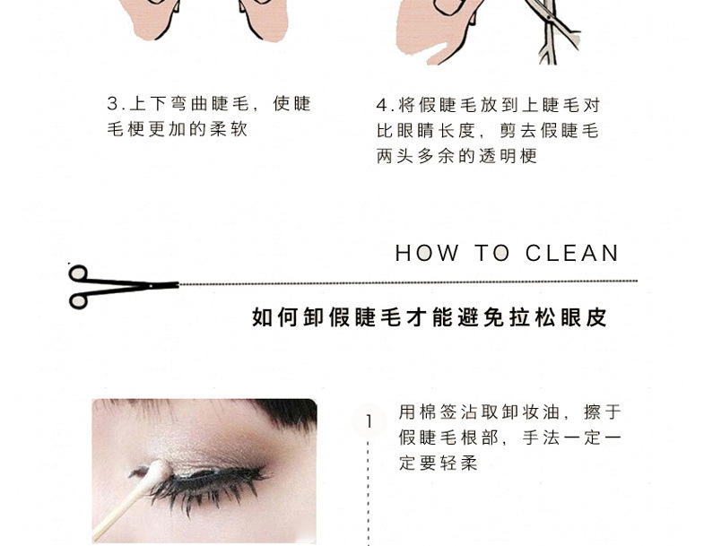 Detail Feedback Questions About 5pair10pcs Thick Fake Eyelashes