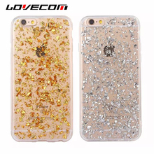 Buy LOVECOM Luxury Glitter Powder Bling Soft TPU Case Coque iPhone 5 5S SE 6 6S 7 Plus Transparent Phone Cases Back Cover Bags for $1.52 in AliExpress store