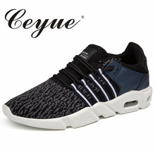 Ceyue Spring Mesh Mens Casual Shoes New Fashion Brand Breathable Summer Shoes For Male Krasovki Smith Soft Trainers Men Sneakers(China)