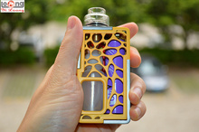 Authentic Yilong 3D Printed Squonk Machine box Mod 13mL Removeable bottle Electronic Cigarette RDA Atomizer Vaporizer kit
