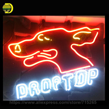 DROPTOP Neon Sign Heart Neon Light Room Neon Bulbs handmade Glass Tube Advertise Iconic Sign Lamps Store Display In Stock 19X15