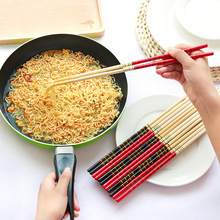 2016 New 1 Pair Cook Noodles Super Long Chopsticks Deep Fried Hot Pot Chinese Bamboo Restaurant