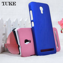 TUKE 1X Ultra-Thin Frosted Matte Hard PC Phone Cover Case For Alcatel One Touch Idol 2 Mini S OT 6036 6036Y SJ2190