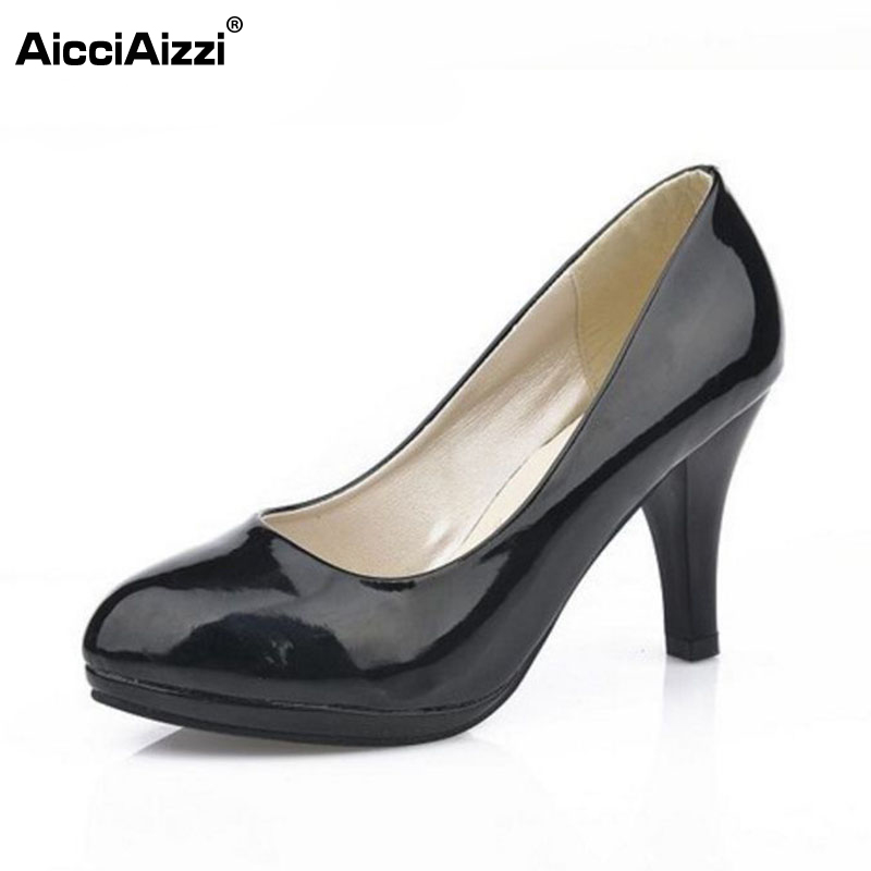 women stiletto thin high heels sexy shoes round toe party well-saled gentle woman pumps heeled shoes size 34-40 WA0017<br><br>Aliexpress