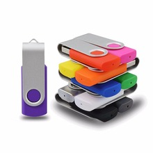 promotion item rotate swivel usb 2.0 real capacity usb flash drive 128 gb for mac