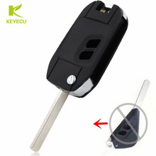 KEYECU 2 Button Modified Folding Remote FLip Key Shell Case for SUBARU Legacy Forester Outback Impreza BRAND NEW(China)