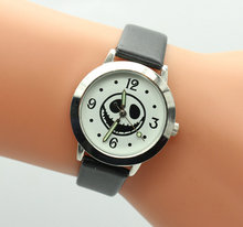 New Arrival Top sales The Nightmare Before Christmas Jack Skull Skeleton Quartz kids wrist Watch Mens Lady Halloween Gifts(China)