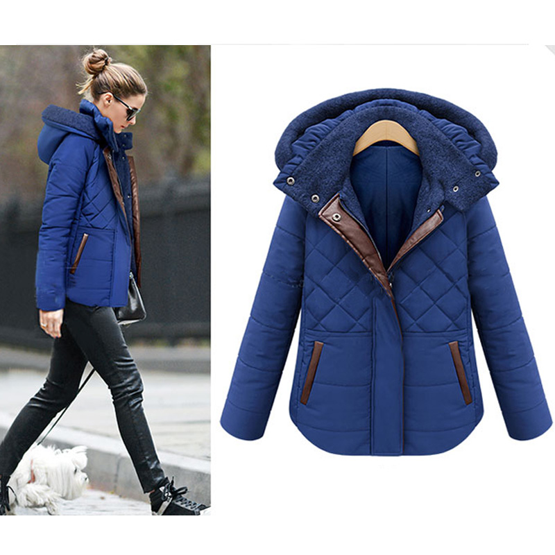 2016 Fashion Winter Jacket Women Down Jackets Coat Female Hooded Parkas for Women Winter Warm Outerwear Coats 50Îäåæäà è àêñåññóàðû<br><br>